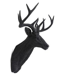 Deer Black poroże dekoracyjne | design-spichlerz.pl