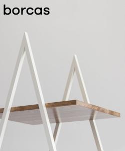 Bakke regał w stylu skandynawskim | Borcas