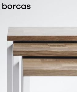 Spill Trio stoliki w stylu skandynawskim   Borcas