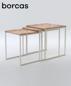 Spill stolik w stylu skandynawskim z kolekcji Oslo | Borcas