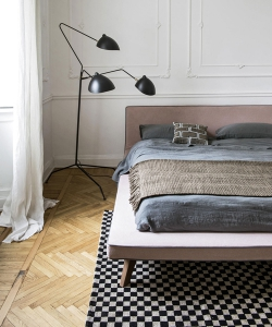 Łóżko Tray w stylu skandynawskim lub włoskim | Letti & Co.