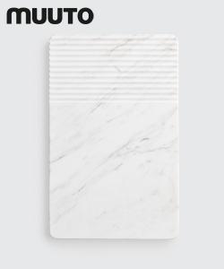 Skandynawska deska dekoracyjna z marmuru Groove Plate | Muuto