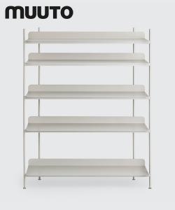 Skandynawski system regałowy Compile konfiguracja 3 | Muuto | design Cecilie Manz