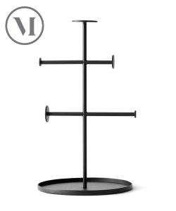 Norm Collector czarny skandynawski stojak na biżuterie | Menu | design Norm Architects