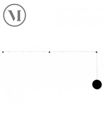 My Spot czarny minimalistyczny skandynawski organizator | Menu