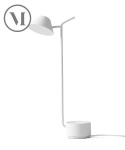Peek czarna skandynawska lampa stołowa | Menu