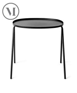 Afteroom Side Table czarny skandynawski stolik kawowy | Menu
