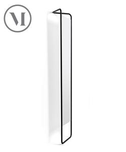 Kaschkasch Mirror czarne skanynawskie lustro stojące | Menu