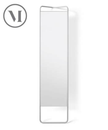 Kaschkasch Mirror białe skanynawskie lustro stojące | Menu