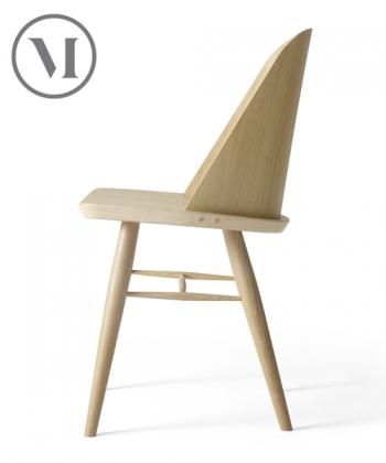Synnes Chair dębowe skandynawskie krzesło drewniane | Menu