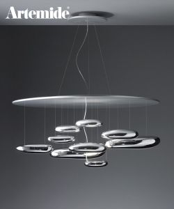Mercury Sospensione | Artemide | design Ross Lovegrove | Design Spichlerz