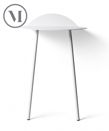 Yeh Wall Table Tall biała skandynwawksa konsola | Menu