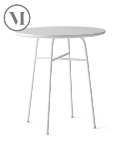 Afteroom Table czarny wys. 73 cm skandynawski stół okrągły | Menu