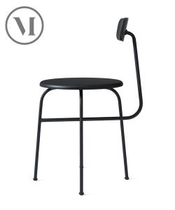 Afteroom Chair 4 czarne krzesło skandynawskie | Menu