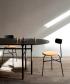 Afteroom Chair 3 Soft skandynawskie krzesło tapicerowane | Menu