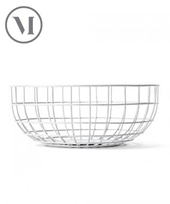 Wire Bowl mosiądz skandynawska miska industrialna | Menu | design Norm Architects