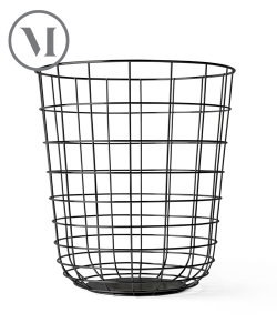 Wire Bin czarny industrialny kosz | Menu | design Norm Architects