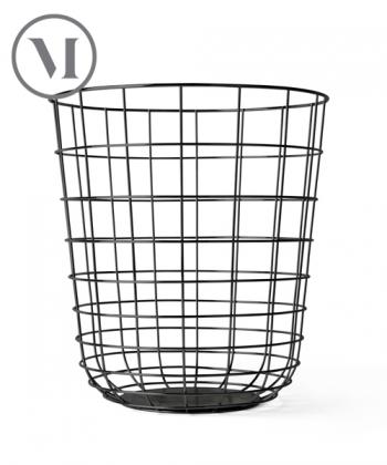 Wire Bin czarny industrialny kosz | Menu | design Norm Architects