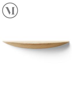 Gridy Shelf L dąb ciemny skandynawska półka drewniana | Menu