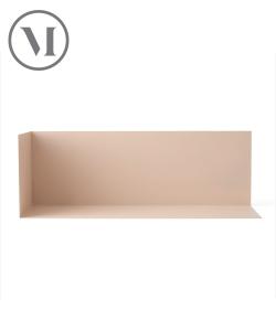 Corner Shelf L różowy, półka skandynawska | Menu