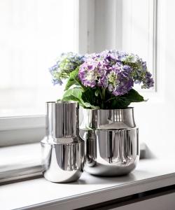 Tactile Vase Tall nowoczesny skandynawski wazon | Menu | design Gam Fratesi