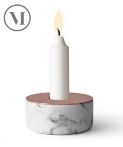 Chunk of Marble skandynawski świecznik z marmuru | Menu