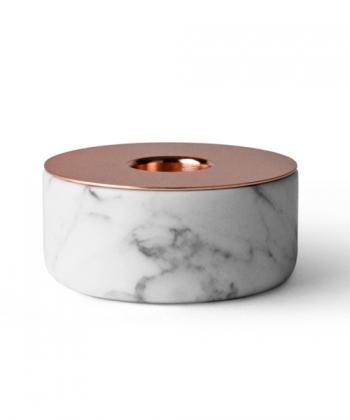 Chunk of Marble skandynawski świecznik z marmuru   Menu