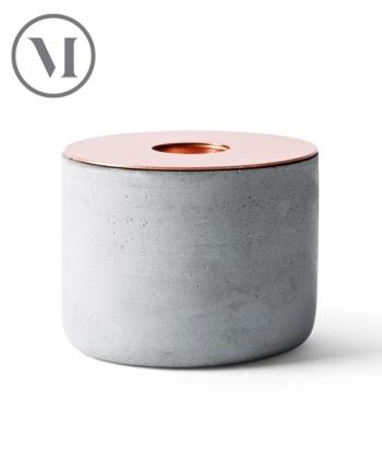 Chunk of Concrete skandynawski świecznik z betonu   Menu