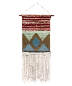 Ścienny wiszący dywanik skandynawska dekoracja ścienna