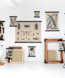 Dekoracja ścienna botanika L skandynawska dekoracja ścienna