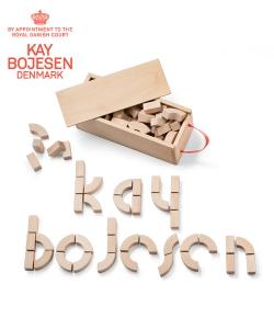 Alphabet Blocks skandynawskie klocki do zabawy | Kay Bojesen