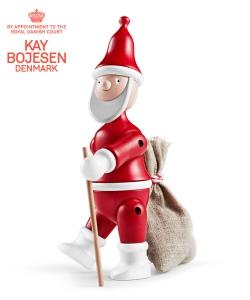 Santa Claus skandynawska figura drewniana mikołaja | Kay Bojesen