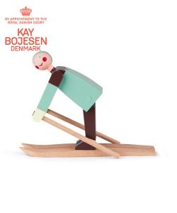 Boje The Skier skandynawska figura drewniana | Kay Bojesen