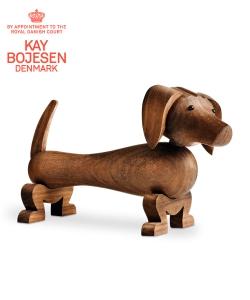 Dog skandynawska figurka drewniana | Kay Bojesen