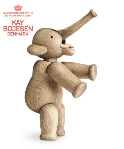 Elephant skandynawska figurka drewniana Elephant | Kay Bojesen