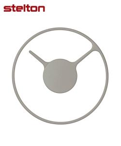 Stelton Time czarny designerski zegar ścienny | Stelton | design Jehs+Laub