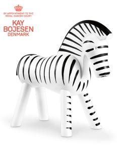 Zebra skandynawska figura drewniana | Kay Bojesen