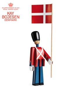 Standard Bearer skandynawska figurka drewniana | Kay Bojesen