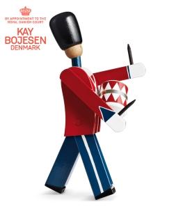 Drummer skandynawska figurka drewniana | Kay Bojesen