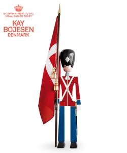 Standard Bearer XL skandynawska drewniana figura podłogowa | Kay Bojesen