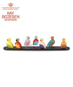 Sparrows skandynawskie figurki drewniane | Kay Bojesen