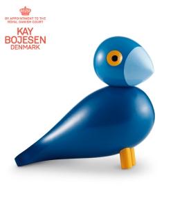 Songbird Kay skandynawska figurka drewniana | Kay Bojesen