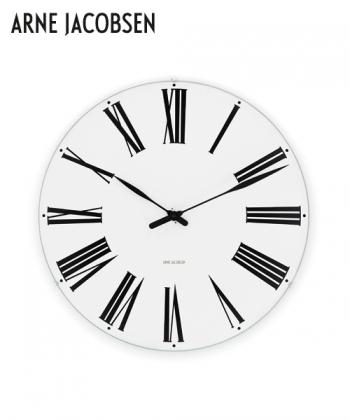 Roman Wall Clock designerski zegar skandynawski Arne Jacobsen