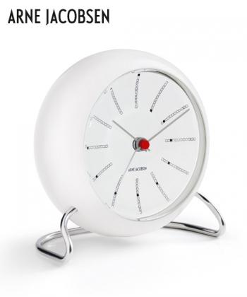 Bankers Table Clock designerski zegar stołowy   Arne Jacobsen