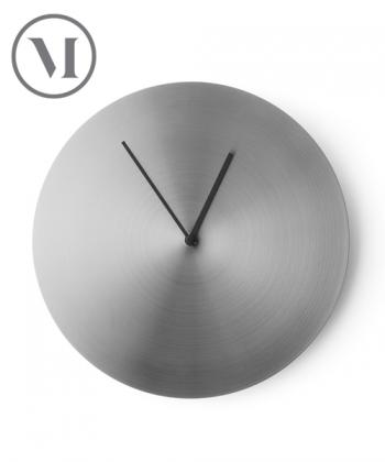 Norm Wall Clock stal szczotkowana skandynawski zegar ścienny | Menu | design Norm Architects