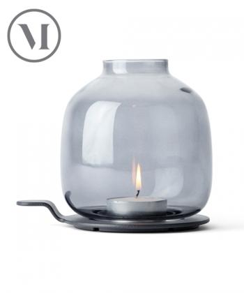 Hallgeir Chamber Light skandynawski świecznik szklany | Menu