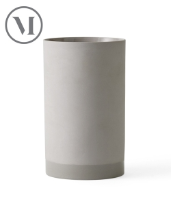 Cylindrical Vase L Ash skandynawski wazon | Menu