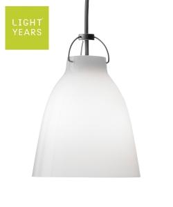 Caravaggio Opal P1 skandynawska designerska lampa wisząca szklana | Lightyears | design Cecilie Manz