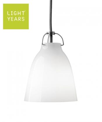 Caravaggio Opal P0 skandynawska designerska lampa wisząca szklana | Lightyears | design Cecilie Manz