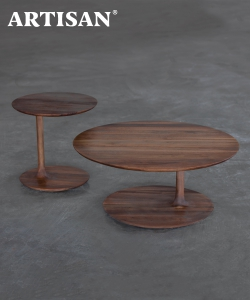 Bloop designerski drewniany stolik kawowy | Artisan | Design Spichlerz